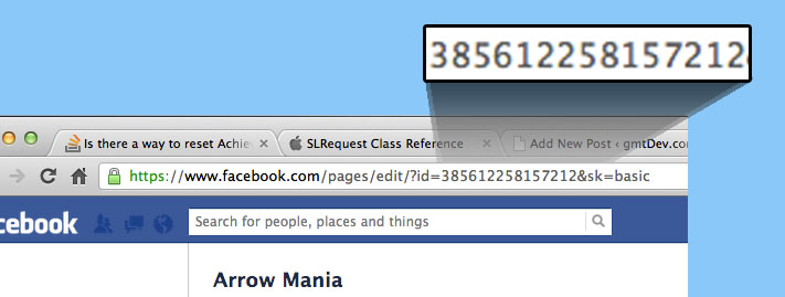 Opening your Facebook Page from an iOS App in the Facebook App | GMT
